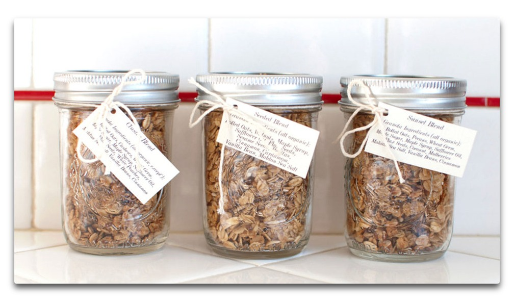Gluten free granola with a punch